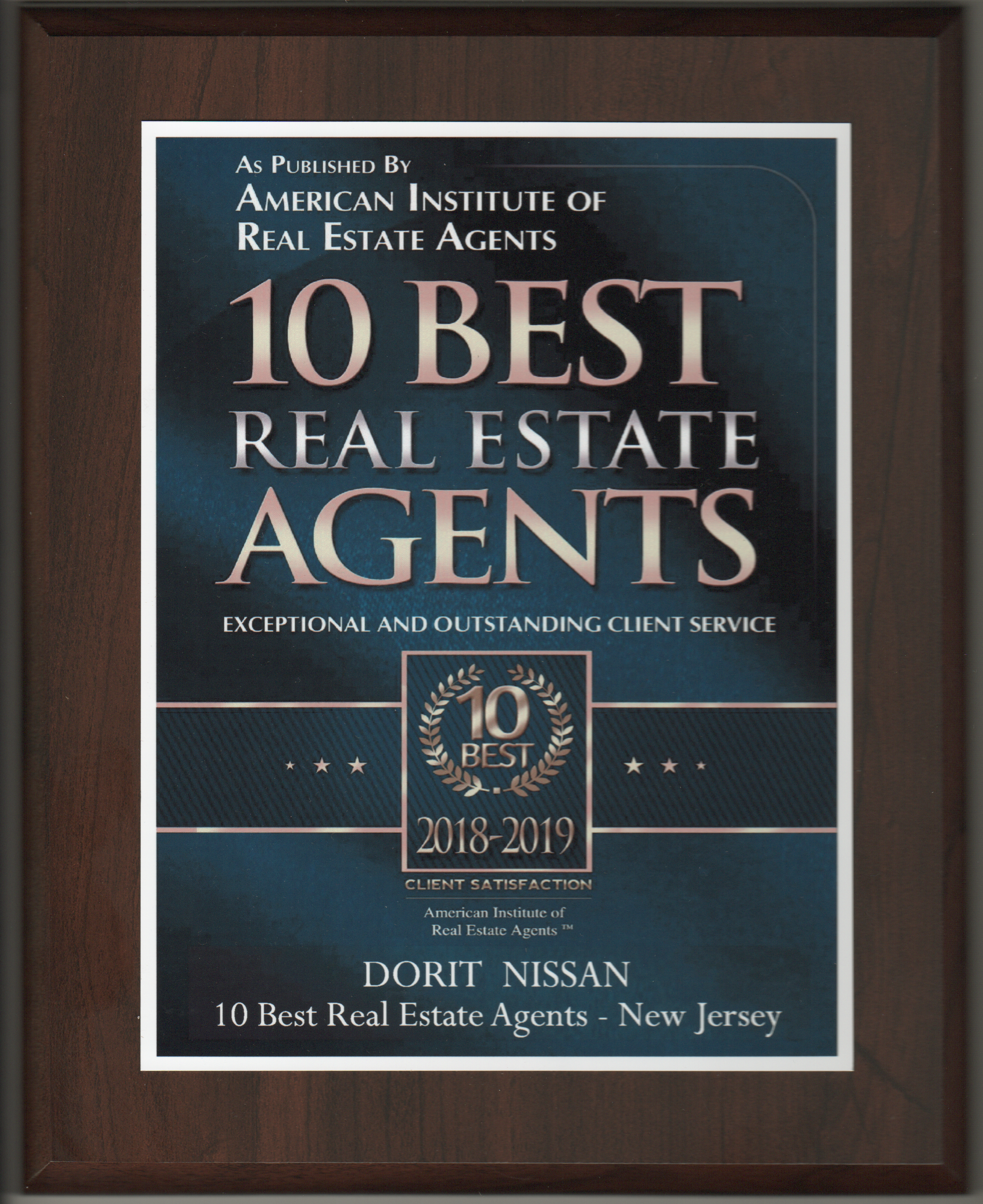 10 Best Agents 2018-2019