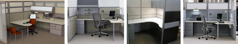 New Workstations Cubicles Office Furniture New Used