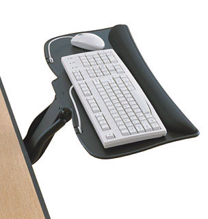 Delightful Solid And Sturdy, The Prospero Keyboard Support Is Large Enough To  Accommodate Both A Keyboard And Mouse, Yet Trim Enough To Slide Neatly  Under The ... Nice Design
